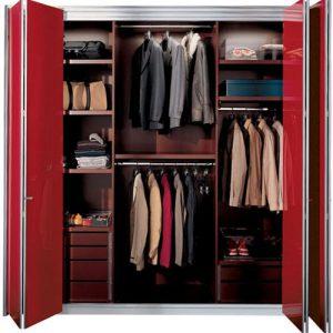 Tủ nhôm kính đựng quần áo