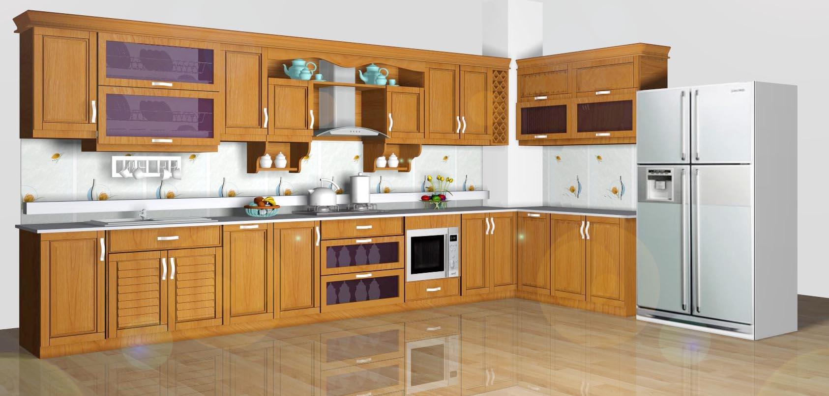 Tham khảo báo giá tủ bếp nhôm kính của công ty